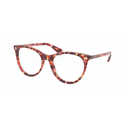 Armação Óculos Ralph Ra7122 5891 53 Vermelho Havana