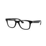 Armação Oculos Ray Ban RB4640vl 2000 50 Preto Brilhoso