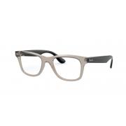 Armação Oculos Ray Ban Rb4640vl 8059 50 Fumê Transparente