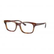 Armação Oculos Ray Ban Rb5383 5944 54 Marrom Havana Brilho