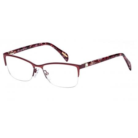 Armação Óculos Victor Hugo Vh1251s 0r50 54 Rosa Bordô Brilho