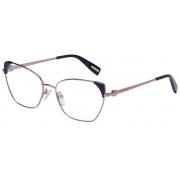 Armação Óculos Victor Hugo Vh1272 08fe 55 Bronze Azul
