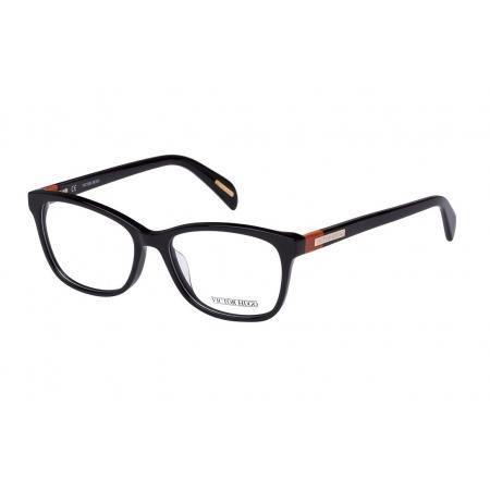 Armação Óculos Victor Hugo Vh1721 0700 52 Preto Brilho