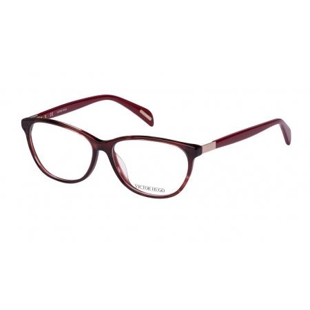 Armação Óculos Victor Hugo Vh1722 01gj 54 Vermelho Translucido