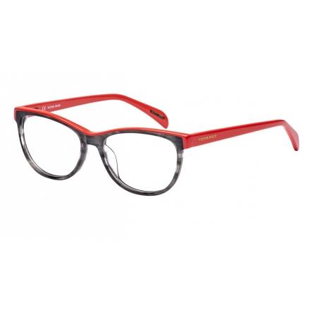 Armação Óculos Victor Hugo Vh1734 0ahu 52 Cinza Coral Brilho