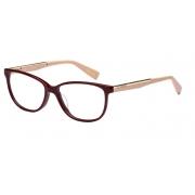 Armação Óculos Victor Hugo Vh1735 01aw 54 Bordo Nude Brilho