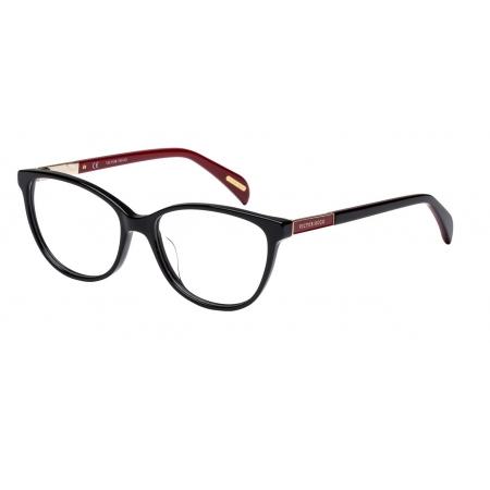 Armação Óculos Victor Hugo Vh1758 0700 53 Preto Brilho
