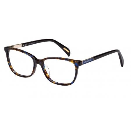 Armação Óculos Victor Hugo Vh1759 06nn 53 Marrom Azul Tartaruga