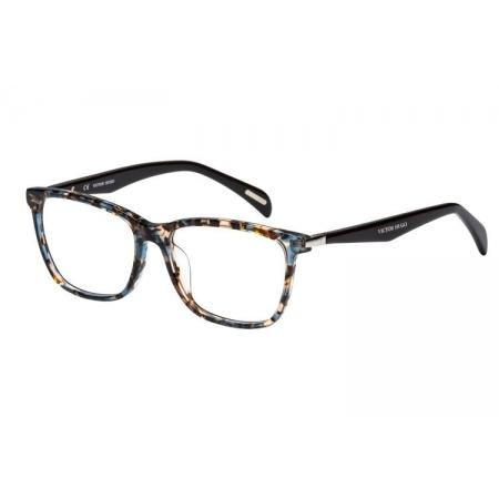 Armação Óculos Victor Hugo Vh1760 0gek 54 Azul Havana