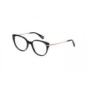Armação Óculos Victor Hugo Vh1799 0700 52 Preto Brilho Dourado