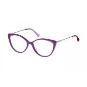 Armação Óculos Victor Hugo Vh1801 09q4 54 Roxo Brilho