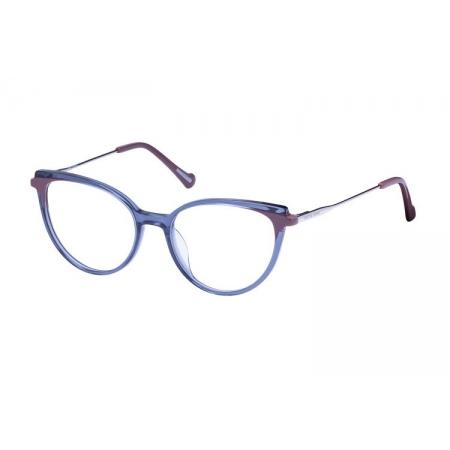 Armação Óculos Victor Hugo Vh1803 09ce 52 Azul Translucido