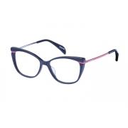 Armação Óculos Victor Hugo Vh1807 0v66 53 Cinza Escuro Rosa Brilho
