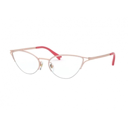 Armação Óculos Vogue Vo4168 5075 54 Rosê Brilhoso