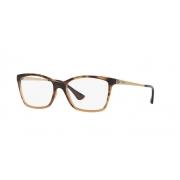 Armação Óculos Vogue Vo5043l 2505 54 Marrom Havana Degrade Caramelo