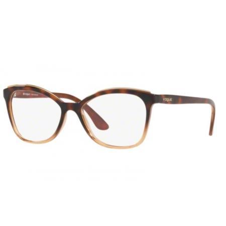 Armação Óculos Vogue Vo5160l 2750 54 Marrom Havana