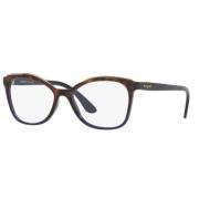 Armação Óculos Vogue Vo5160l 2752 54 Marrom Azul