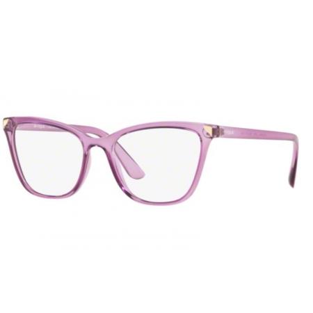 Armação Óculos Vogue Vo5206l 2761 53 Violeta Translucido