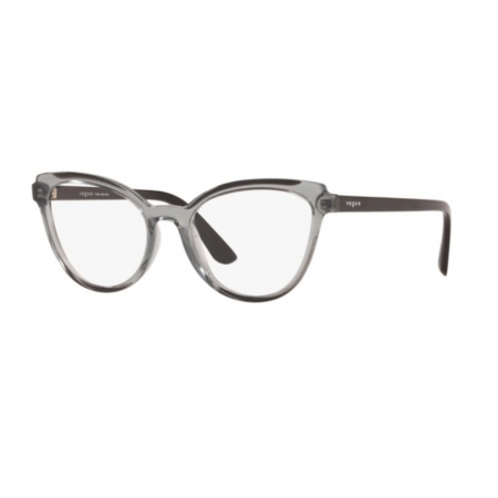 Armação Óculos Vogue Vo5291l 1981 53 Cinza Translucido