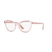 Armação Óculos Vogue Vo5291l 2763 53 Rosa Translucido