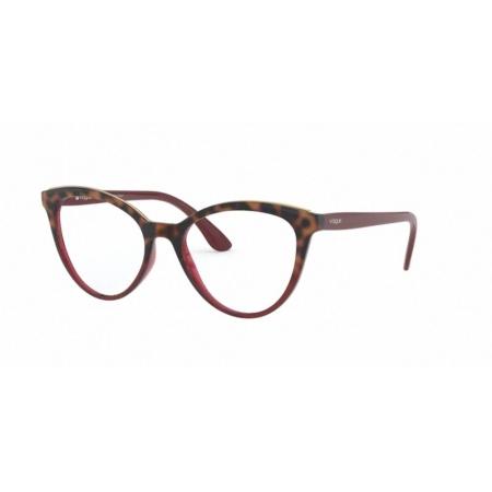 Armação Óculos Vogue Vo5297l 2751 52 Marro Havana