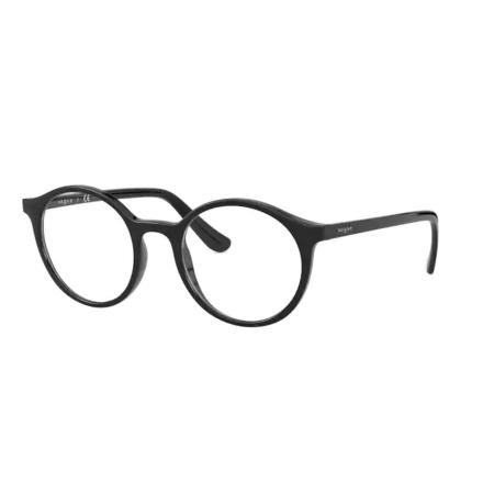 Armação Óculos Vogue Vo5310 W44 49 Preto Brilho