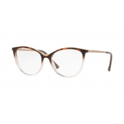 Armação Óculos Vogue Vo5320l 2827 52 Marrom Havana Transparente