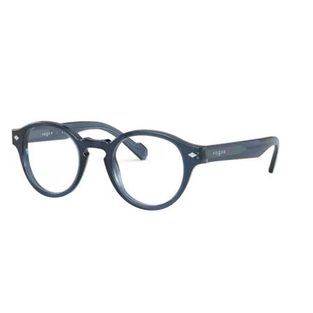 Armação Óculos Vogue Vo5332 2760 46 Azul Translucido