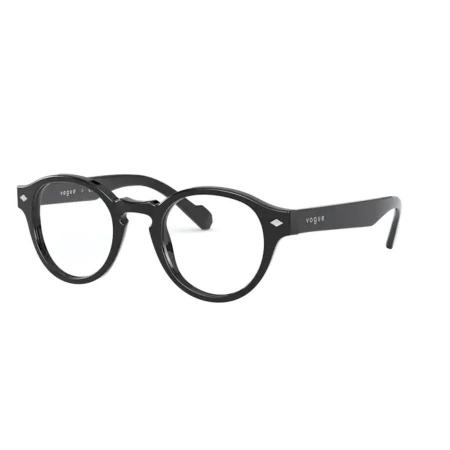 Armação Óculos Vogue Vo5332 W44 46 Preto Brilho