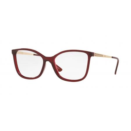 Armação Óculos Vogue Vo5334l 2477 54 Vermelho Translucido