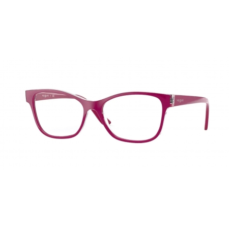Armação Óculos Vogue Vo5335 2840 54 Violeta Brilho