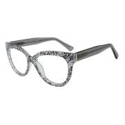 Armação Oculos Grau It Sabrina Sato Rene R26 S10 Preto Transparente
