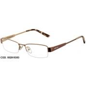 Armação Para Oculos De Grau Colcci 5529 552915353 Dourado Marrom