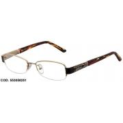 Armação Para Oculos De Grau Colcci 5530 Cod. 553058251 Dourado Marrom