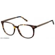 Armação Para Oculos De Grau Colcci 5554 Cod. 555480654 Marrom