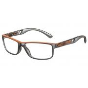 Armação Para Oculos De Grau Mormaii Infantil Glacial M6009D2753 Fumê Laranja