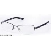 Armação Para Oculos De Grau Mormaii Titanio Mo1532 M153243354 Grafite Preto