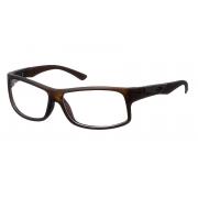 Armação Para Oculos De Grau Mormaii Vibe Cod. 112797154 -  Marrom Fosco