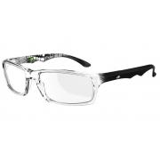 Armação Para Oculos De Grau Mormaii Viper Cod. M164241450 Transparente Preto Pequena