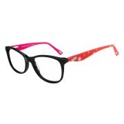 Armação Oculos Grau It Sabrina Sato Liv R27 C1/S11 Preto Rosa