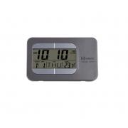 Despertador Digital Herweg 2975 071 Cinza