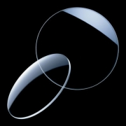 Lentes Grau Simples Sem Antirreflexo Incolor Esférico -4 até +4 Cilíndrico até -2