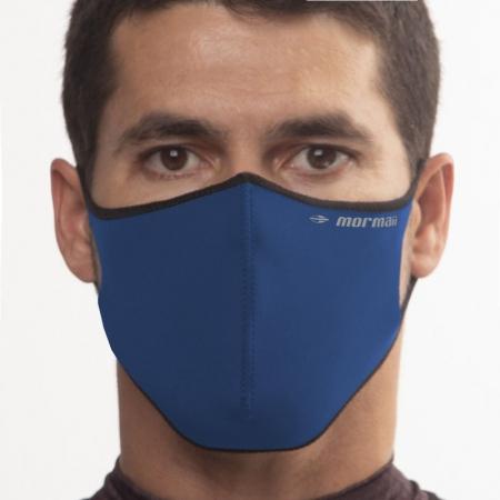 Máscara De Proteção Neoprene Mormaii Lavável Azul