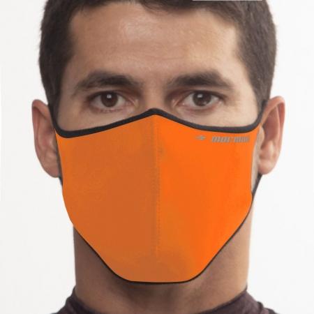 Máscara De Proteção Neoprene Mormaii Lavável Laranja Neon