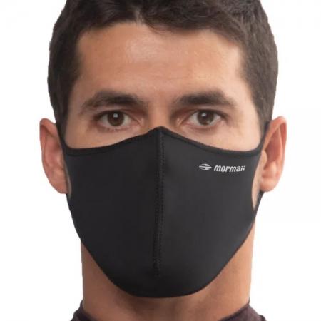Máscara De Proteção Neoprene Mormaii Lavável Preta
