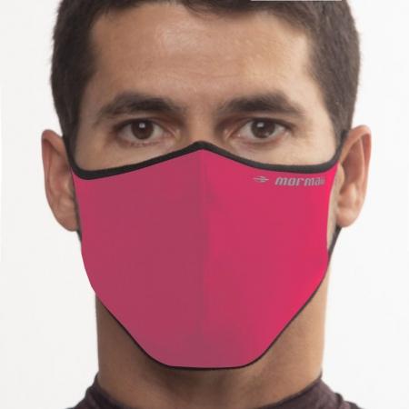 Máscara De Proteção Neoprene Mormaii Lavável Rosa Neon
