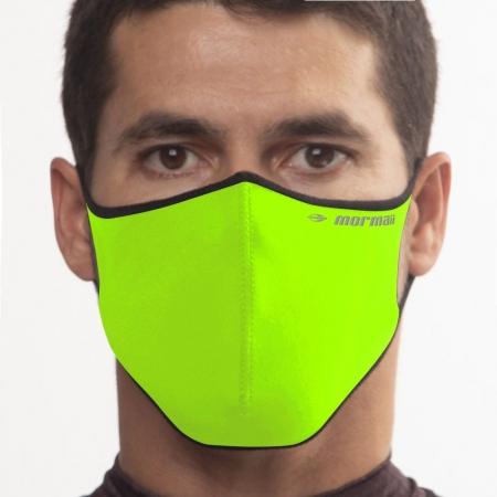 Máscara De Proteção Neoprene Mormaii Lavável Verde Neon