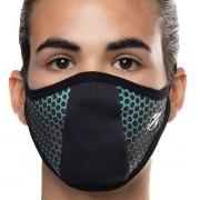 Mascara Proteção Para Esportes Mormaii Dry Confort Uv Azul