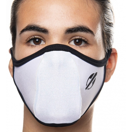Máscara Proteção Para Esportes Mormaii Dry Confort Uv Branca