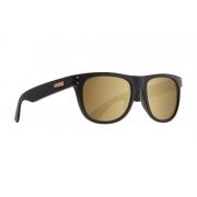Oculos Evoke On The Rocks Black Matte Gold Gold Mirror